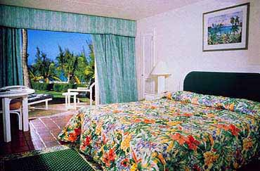 View of a Guest Room at the Sam Lord's Castle Resort of Barbados